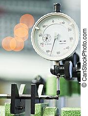 tool quality measuring process - measuring head sensor...