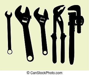 Tool silhouettes 01.