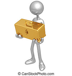 Toolbox - 3D Concept And Presentation Figure