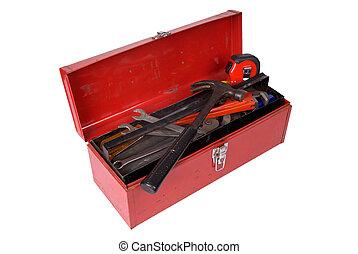 toolbox, aperto