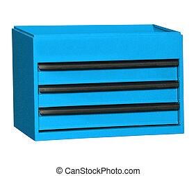 Toolbox, Blue, Work Tool
