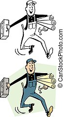 toolbox, carpentiere