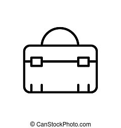 toolbox equipment architecture icon line style