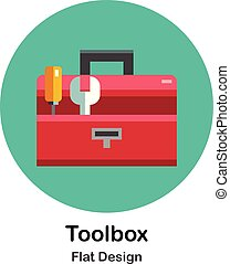 Toolbox Flat Icon