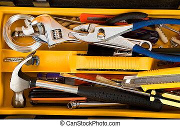 toolbox, gele