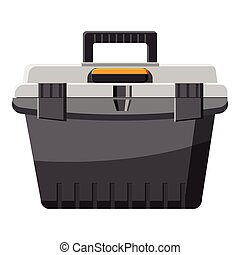 toolbox icon, cartoon style