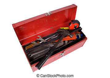Toolbox open