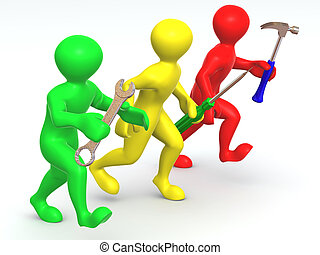tools., τρία , διατήρηση , άντραs
