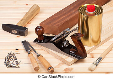 tools., 大工仕事