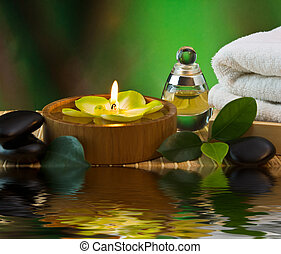 tools and accessories for spa treatments and relaxation
