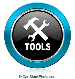 tools glossy icon