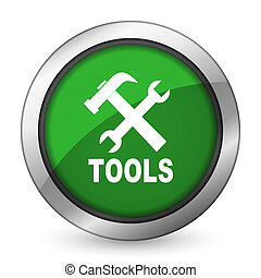 tools green icon