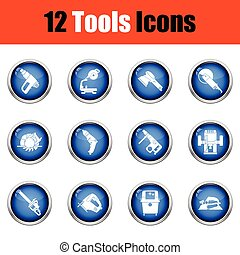 Tools icon set.