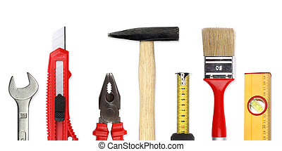 tools III - A Set of a lot of different tools and working...