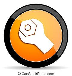 tools orange icon