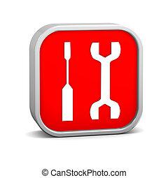 Tools Sign