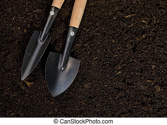Tools soil for planting