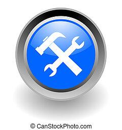 tools steel glosssy icon