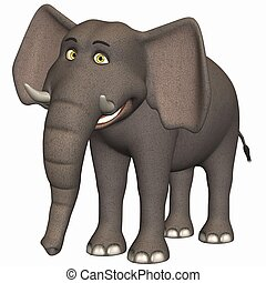 toon, ελέφαντας