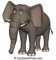 toon, 大象
