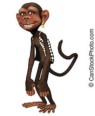 toon, 猴子