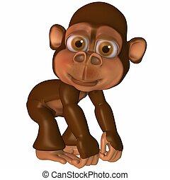 toon, 猿
