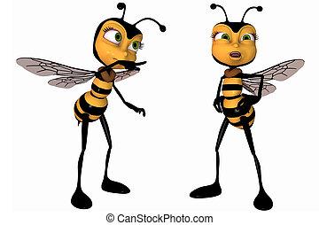 toon, 蜜蜂