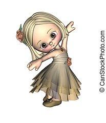 toon, balerina, 1, -