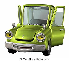 toon, car