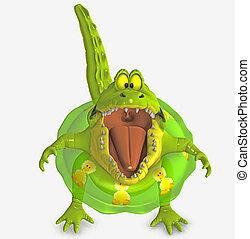 toon, croc