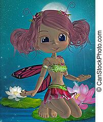 toon fairy - 3d