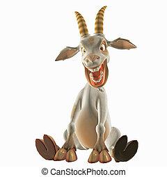 toon, goat