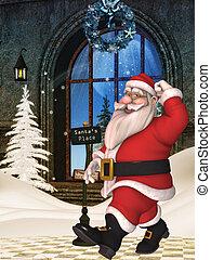 Toon Santa