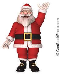 Toon Santa Claus