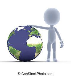toon, sujeito, e, a, earth.