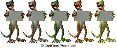 toonimal, gecko