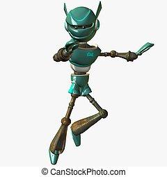 toonimal, robot