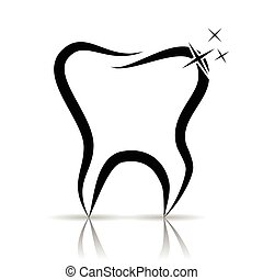 Tooth as a dental symbol