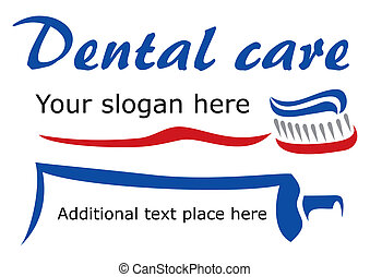 Tooth brush and paste - Design for dental care company...