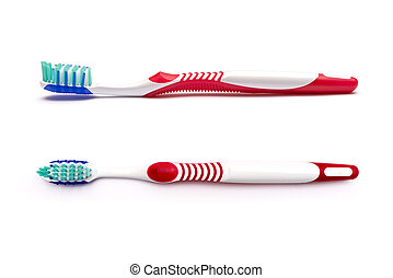 tooth brush isolated on a white background