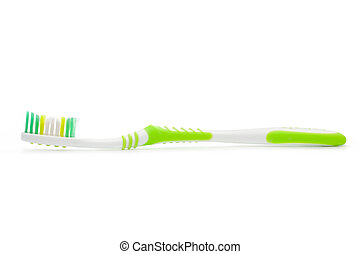 Tooth brush isolated on white