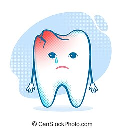 Tooth character.