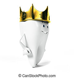 Tooth character