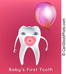 Tooth character vector