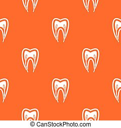 Tooth cross section pattern seamless