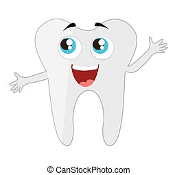 tooth dental healthcare isolated icon