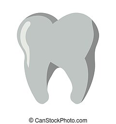 Tooth dental symbol