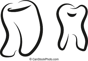 Tooth Graphic symbol