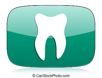 tooth green icon