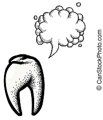 Tooth Icon. Dentistry symbol-100
